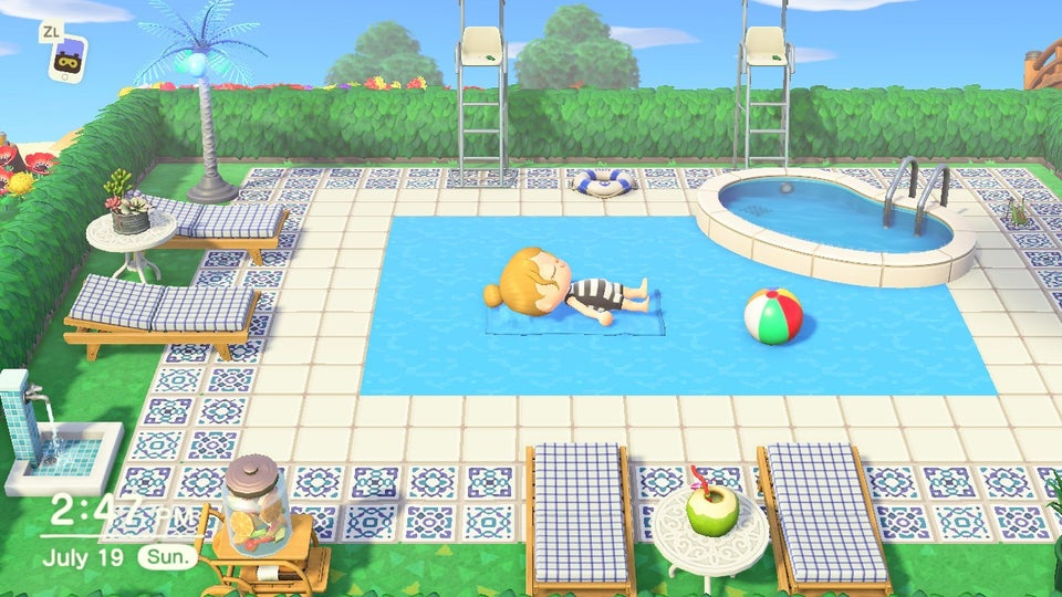Stay Cool With These Animal Crossing New Horizons Pool ...