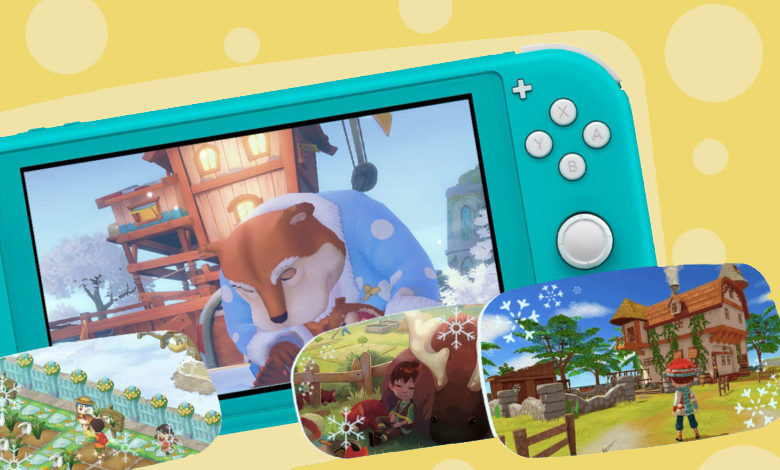 Best cute games for switch