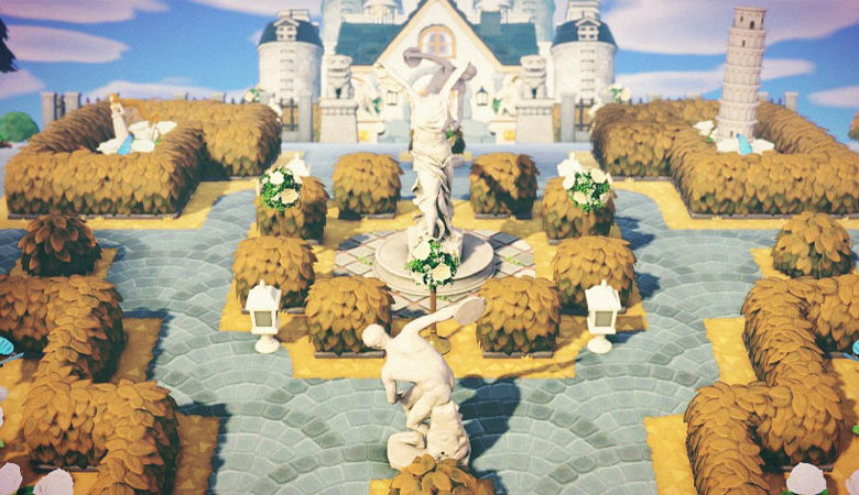 Animal Crossing New Horizons Castle