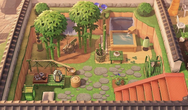 animal Crossing_new_horizons_fairy_garden