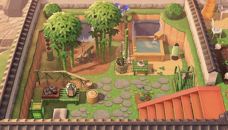 Get Inspired With These Gorgeous Animal Crossing New Horizons Garden Ideas Mypotatogames