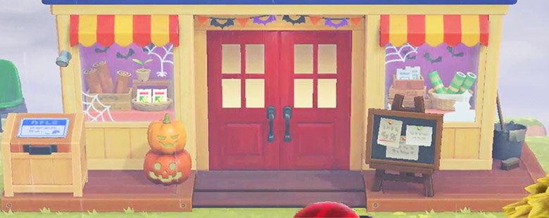 animal crossing new horizons able sisters halloween