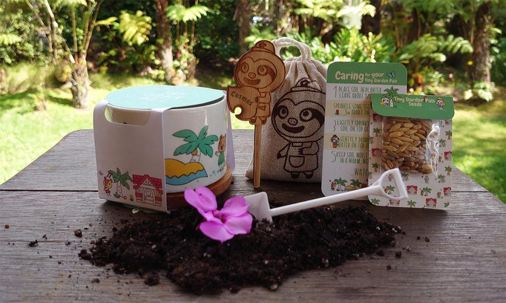 Tiny garden Pals Animal Crossing Themed Garden Kit