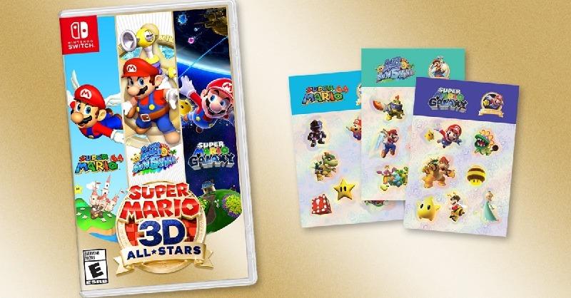 Super Mario 3D all-stars pre-order