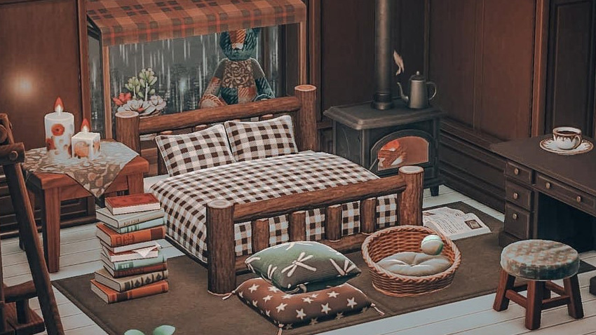 Get Inspired With These Impressive Interiors From Animal Crossing New Horizons Mypotatogames