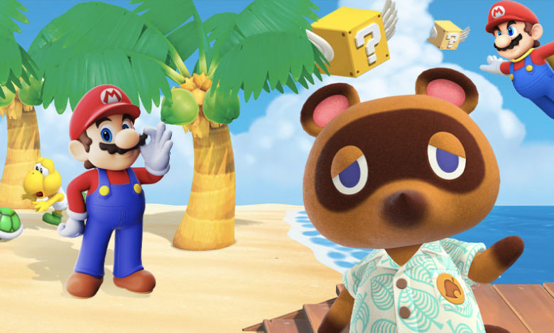 animal crossing new horizons Mario