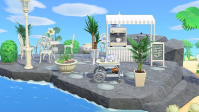 Photo of Get Inspired With These Rad Animal Crossing: New Horizons Rock Areas