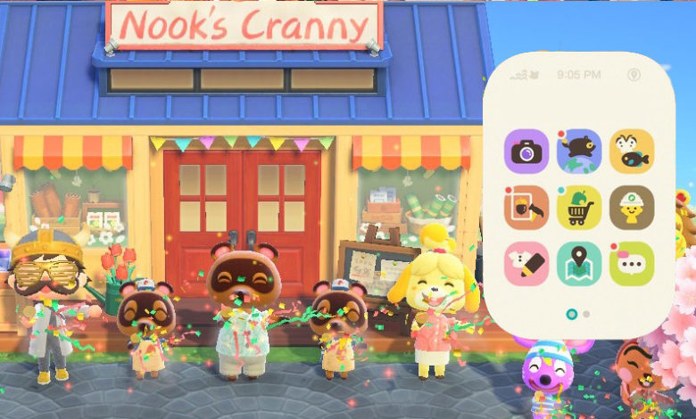 animal crossing nook shopping app
