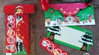 Photo of Adorable Animal Crossing Holiday Card Kits