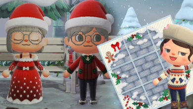 Photo of Animal Crossing New Horizons Festive Clothing And Path Designs