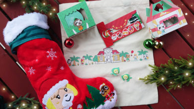 Photo of Animal Crossing Overstuffed Stocking Of Goodies