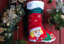 Photo of Animal Crossing Christmas Stocking