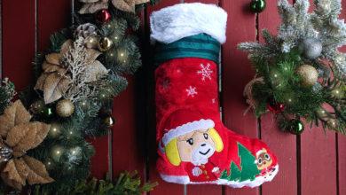 Photo of Animal Crossing Christmas Stocking