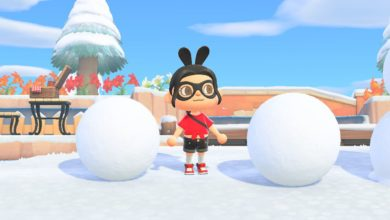 Photo of Snow Begins Falling In Animal Crossing New Horizons Today