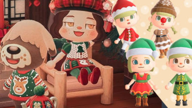 Photo of Festive Holiday Clothing For Animal Crossing New Horizons First Christmas Event