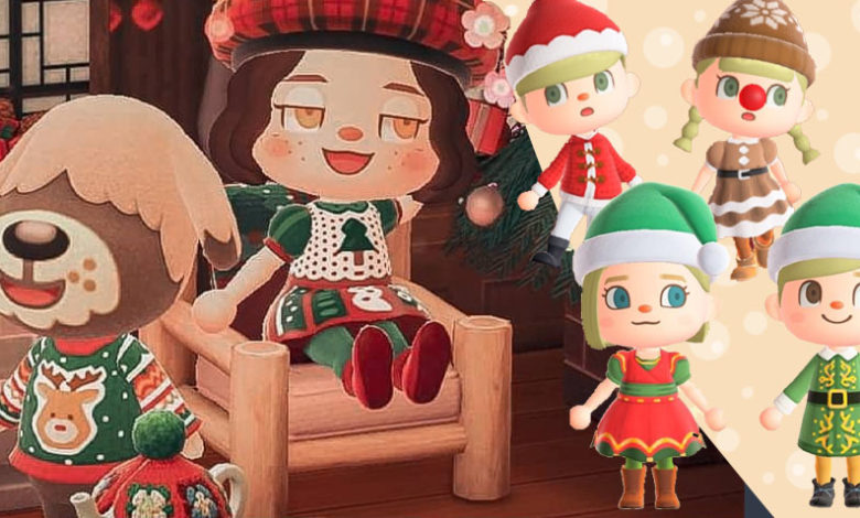 Animal Crossing New Horizons Holiday Clothign Patterns
