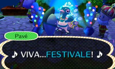 animal creossing new horizons Festivale