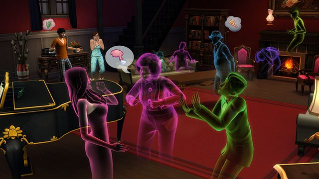 the sims 4 ghost