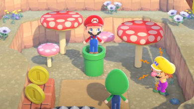 Photo of Nintendo Explains How Animal Crossing New Horizons Mario Warp Pipes Work