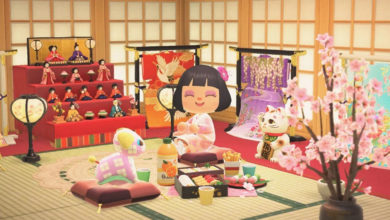 Photo of Nintendo Announces Animal Crossing New Horizons Hinamatsuri And Saint Patrick's Day Items
