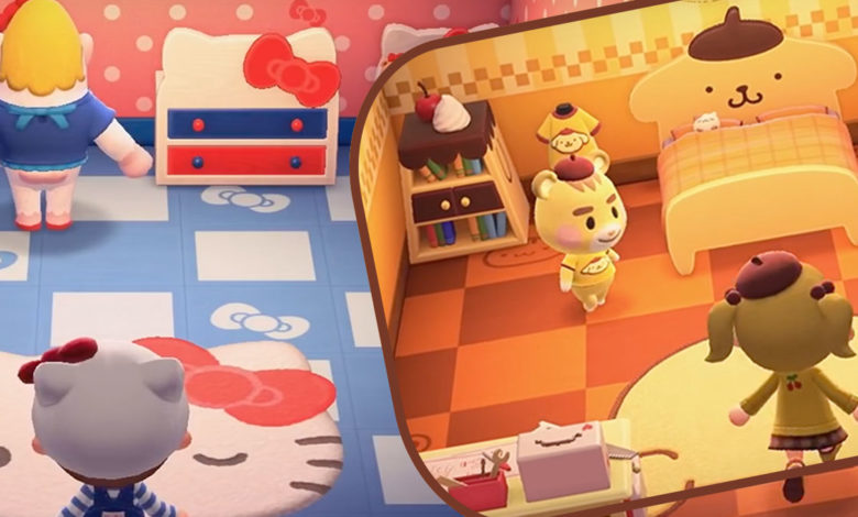 Animal Crossing New Horizons Sanrio Collection