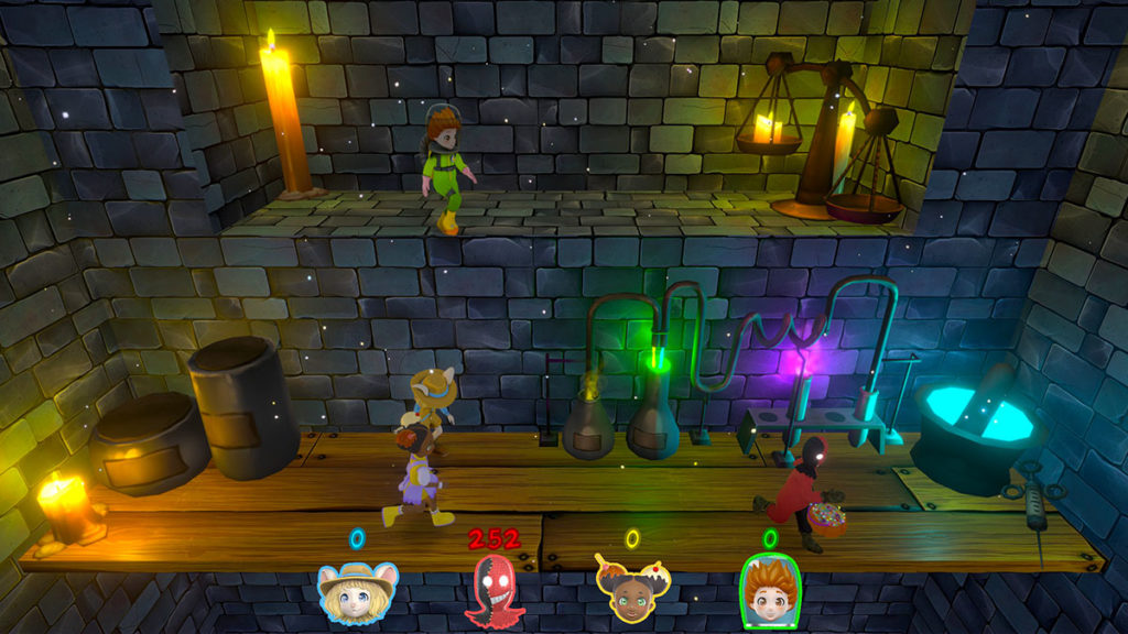 Cheery Party minigame