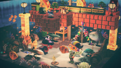 Photo of Animal Crossing New Horizons Players Build New Worlds With Mario Blocks