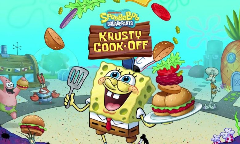 Spongebob Krusty Cook Off Nintendo Switch