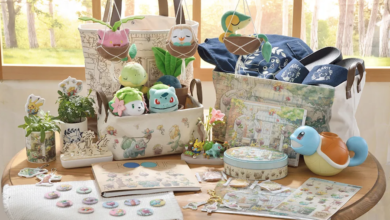 Photo of Official Pokemon Garden Collection Is The Spring Merchandise We Need