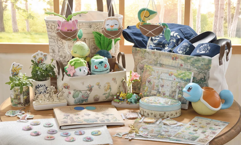 pokemon garden collection