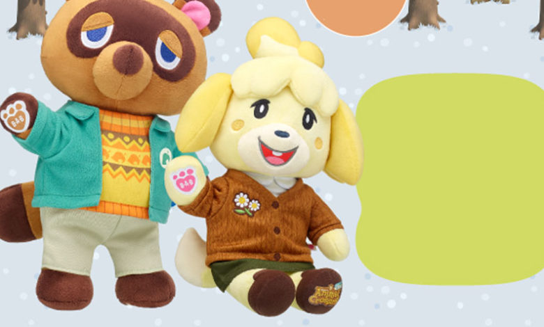 animal crossing build a bear winter outfit
