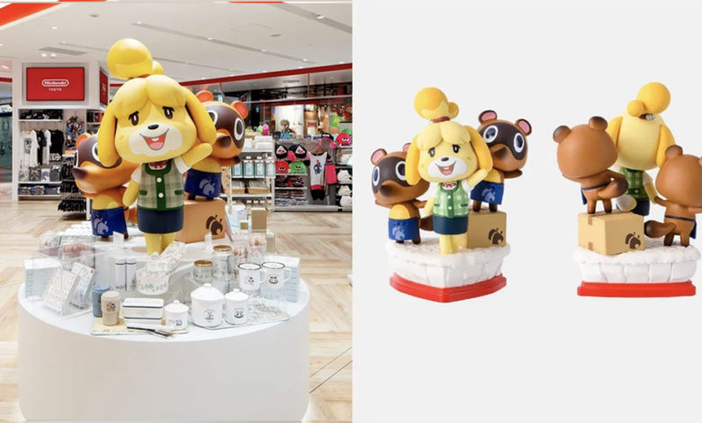 animal crossing isabelle statue