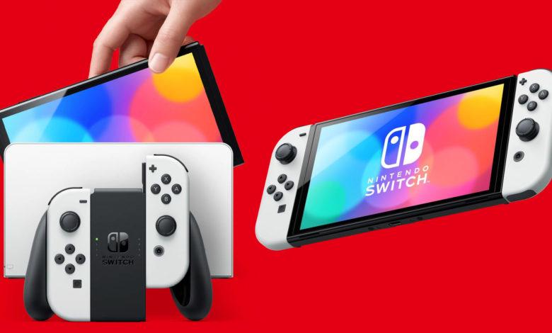 nintnedo switch OLED